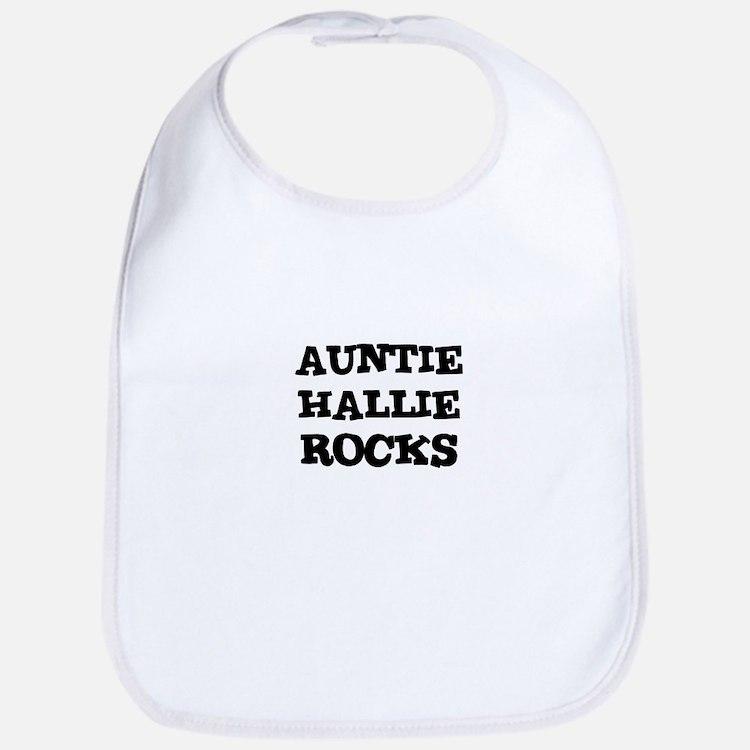 AUNTIE HALLIE ROCKS Bib