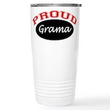 Proud Grama Ceramic Travel Mug