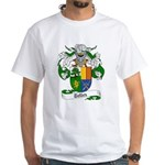 Tellez Coat of Arms White T-Shirt