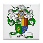 Tellez Coat of Arms Tile Coaster