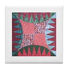 Quilt Block Tile Coaster