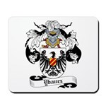 Ybanez Coat of Arms Mousepad