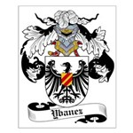 Ybanez Coat of Arms Small Poster