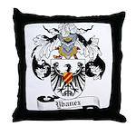 Ybanez Coat of Arms Throw Pillow
