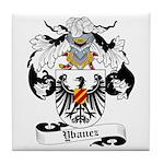 Ybanez Coat of Arms Tile Coaster