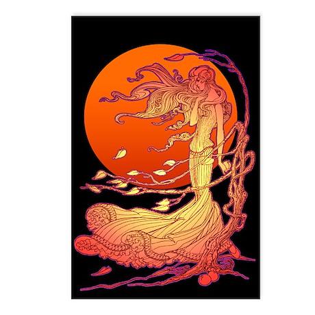 Halloween Wind Postcards (Package of 8)