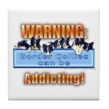 Warning Tile Coaster