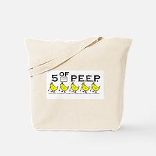 5 of P.E.E.P. Tote Bag