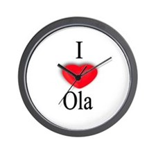 Ola Wall Clock