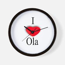 Ola Wall Clock