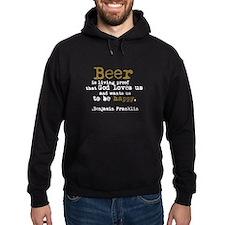 Ben Franklin's Beer Hoodie