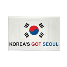 Korea's Got Seoul Rectangle Magnet