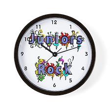 Juniors Rock Wall Clock