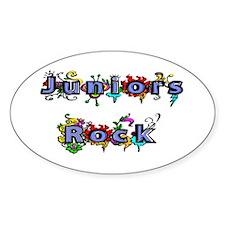 Juniors Rock Oval Decal
