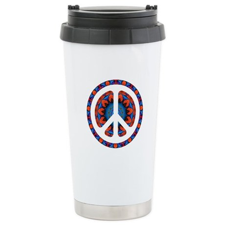 CND Psychedelic3 Stainless Steel Travel Mug