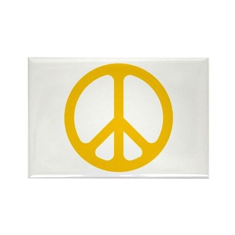 yellow cnd logo rectangle magnet by jackthelads