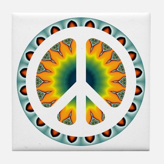 CND Psychedelic5 Tile Coaster