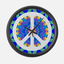 CND Psychedelic6 Large Wall Clock