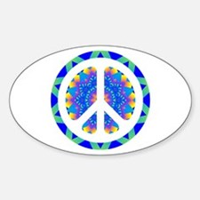 CND Psychedelic6 Oval Decal