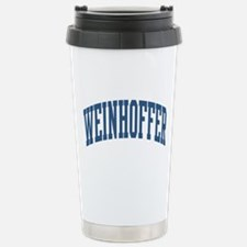 Weinhoffer Collegiate Name Stainless Steel Travel