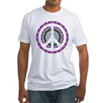 CND Floral3 Fitted T-Shirt
