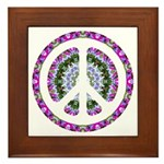 CND Floral3 Framed Tile