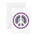CND Floral3 Greeting Cards (Pk of 20)