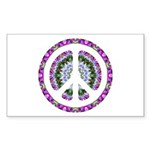 CND Floral3 Rectangle Sticker 50 pk)