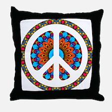 CND Floral4 Throw Pillow
