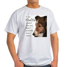 Friendly Sheltie T-Shirt