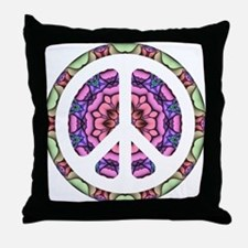 CND Floral5 Throw Pillow