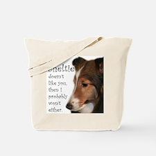 Friendly Sheltie Tote Bag