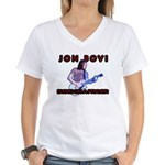 Jon Bovi Women's V-Neck T-Shirt