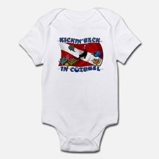 Generic Dive Flag Pocket Infant Bodysuit