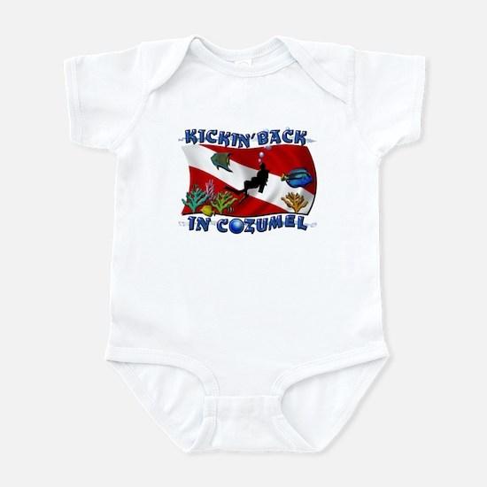 Generic Dive Flag Pocket Infant Bodysuit