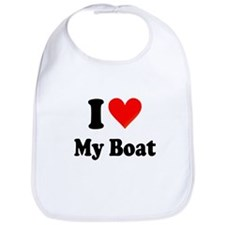 I Heart My Boat: Bib