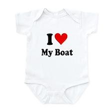 I Heart My Boat: Infant Bodysuit