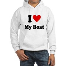 I Heart My Boat: Hoodie