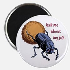 Ask Me About My Job Magnet