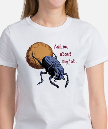 Ask Me About My Job Women's T-Shirt