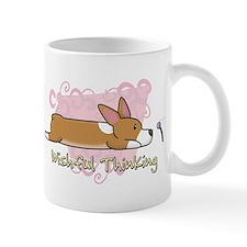 Wishful Kawaii Corgi Mug