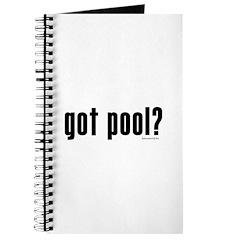 got pool? Journal