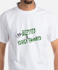 "Men's ""Blessed & Highly Favored"" Tee"