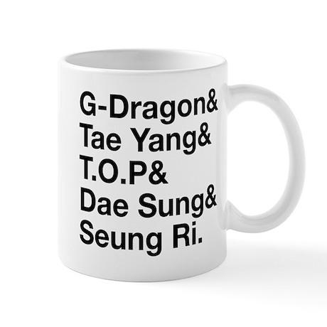 Big Bang (B) Mug