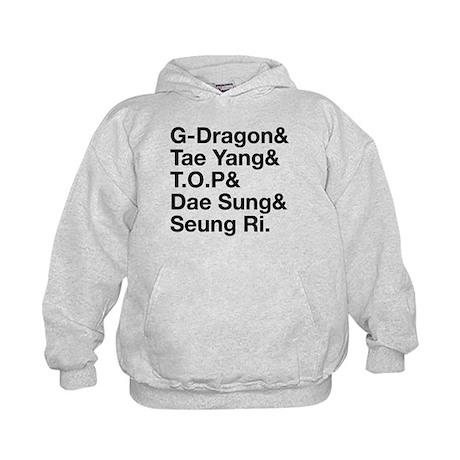 Big Bang (B) Kids Hoodie