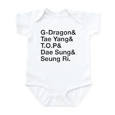 Big Bang (B) Infant Bodysuit