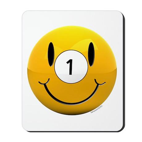 Pool Smiley Mousepad