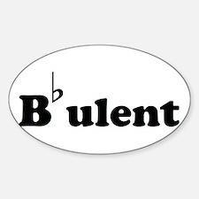 Bbulent Decal