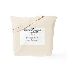 Joe Says.. Set The Pace Tote Bag