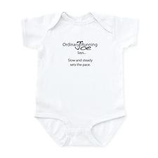 Joe Says.. Set The Pace Infant Bodysuit